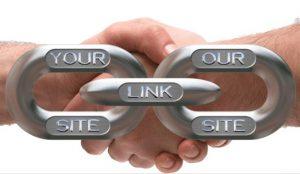 saling tukar atau link exchange