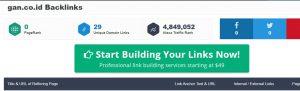 cek backlink gratis ranksignals