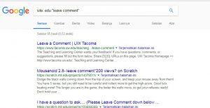 mencari backlink edu dan gov menggunakan dork google