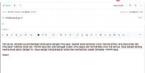 mendapatkan backlink edu dan go.id dengan mengirim email